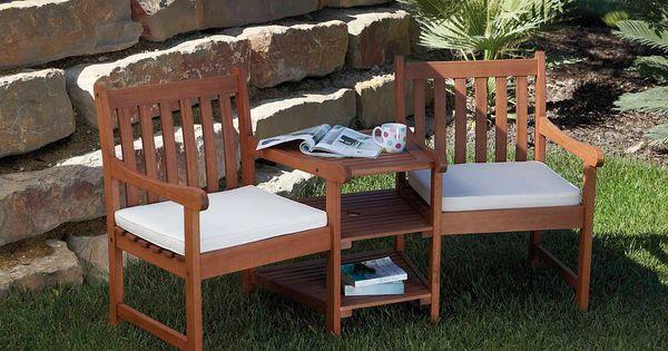 Jack & Jill Twin Garden Seat