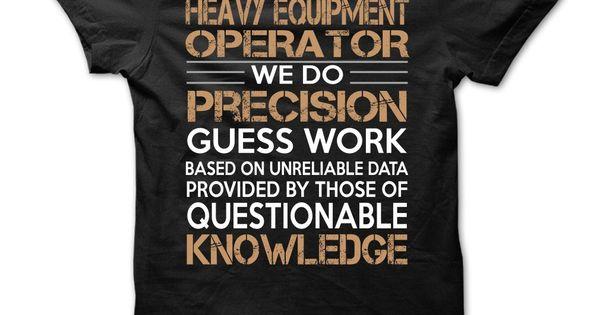 Heavy Equipment OperatorHeavy Equipment
