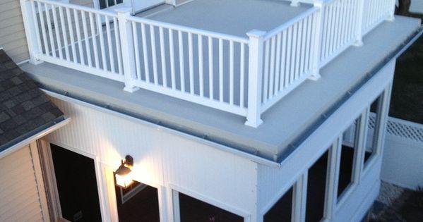 Flat Roof Sunroom Ideas Google Search Sunroom Amp Deck