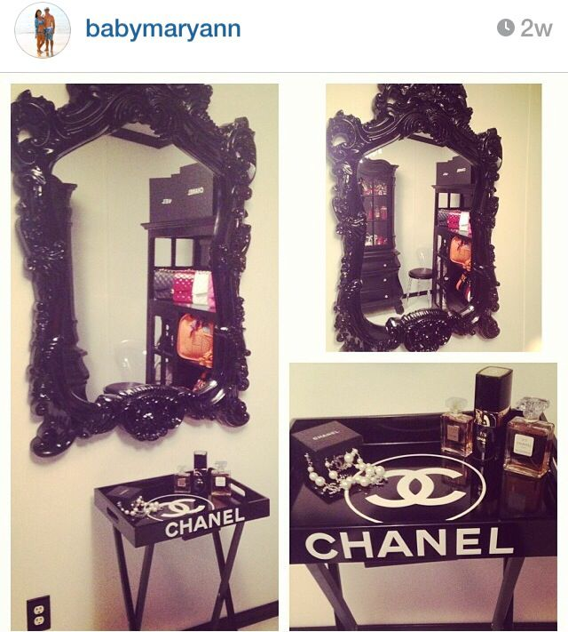 Chanel Table Home Decor Closet