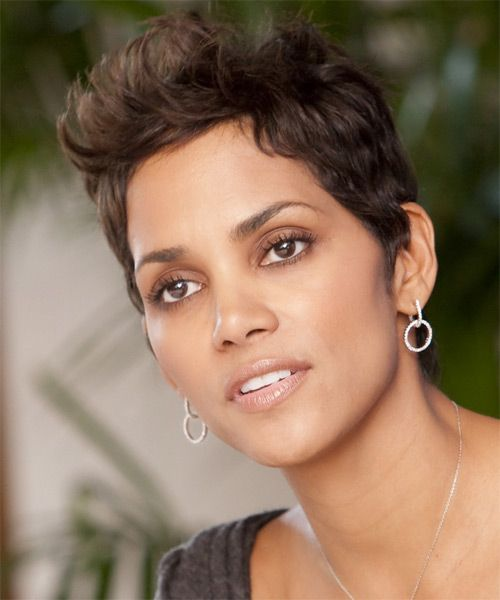 17 Best Ideas About Halle Berry Haircut On Pinterest