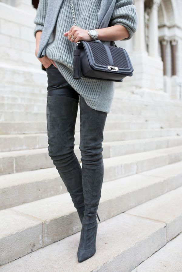 25+ best ideas about Grey Boots on Pinterest | Grey boots ...