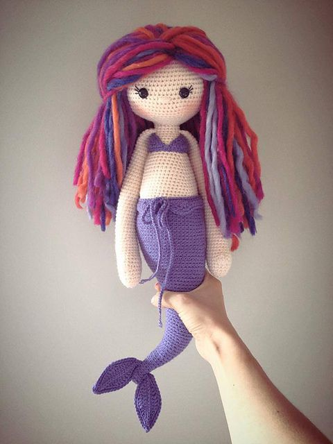 Knitted Amigurumi Patterns Mermaid