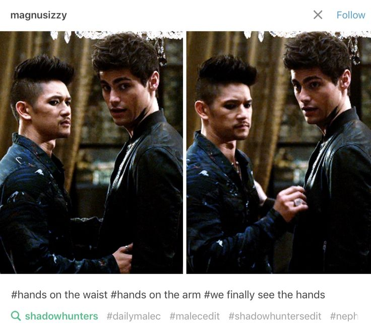 17 Best Ideas About Shadowhunters Malec On Pinterest The Mortal Instruments Shadow Hunters