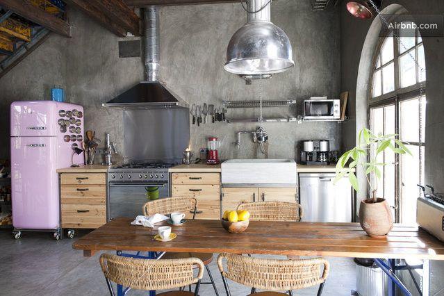 17 Best Ideas About Industrial Chic Kitchen On Pinterest