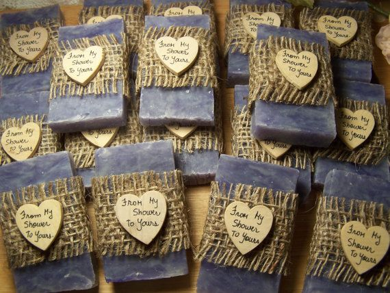 45 rustic favors  wedding favors bridal shower by CountryChicSoaps