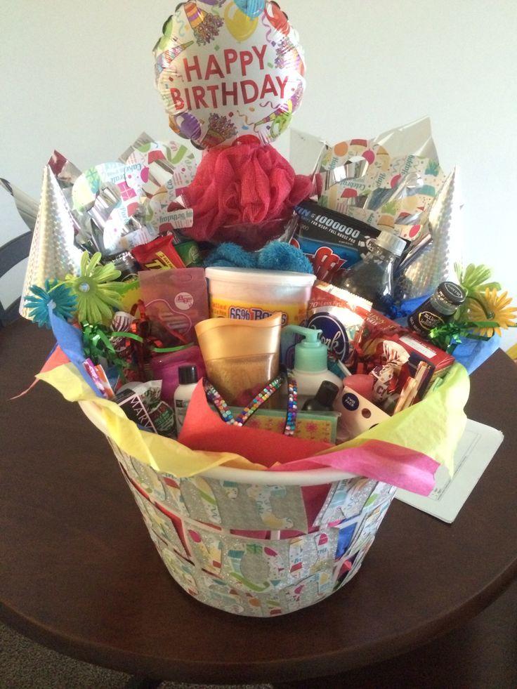 22nd birthday basket my creations pinterest