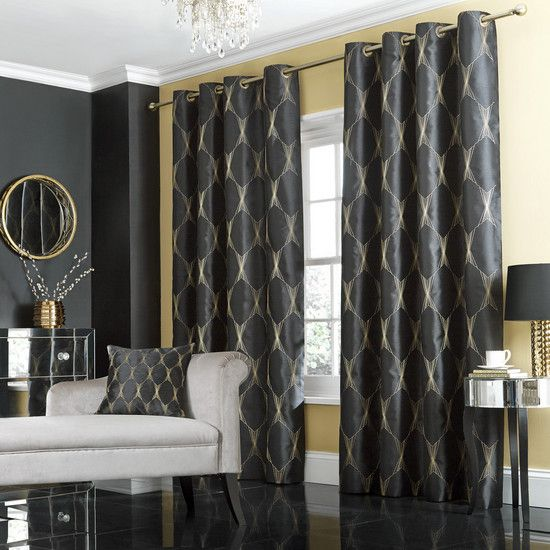 Jazz Curtains And Black On Pinterest