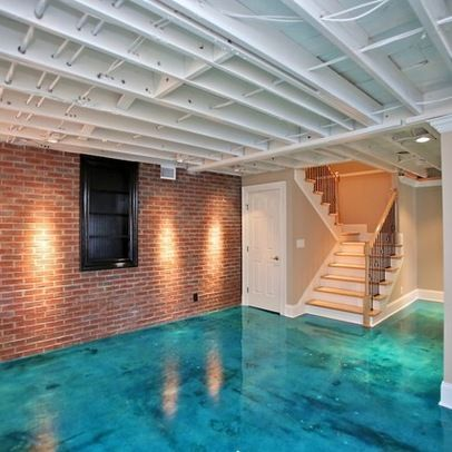 painting basement ceiling and brick veneer walls on paint for basement walls id=16066