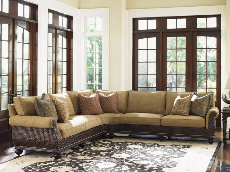 Tommy Bahama Home Island Traditions Westbury Sectional