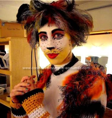 Coolest Cat Diy Costume  sc 1 st  Poemsrom.co & diy girls cat costume   Poemsrom.co