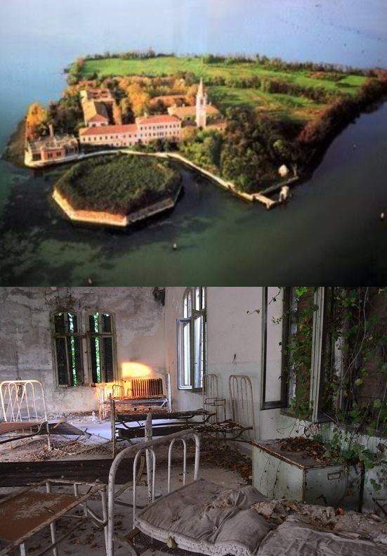 Poveglia Island Italy Was Used During The Black Plague