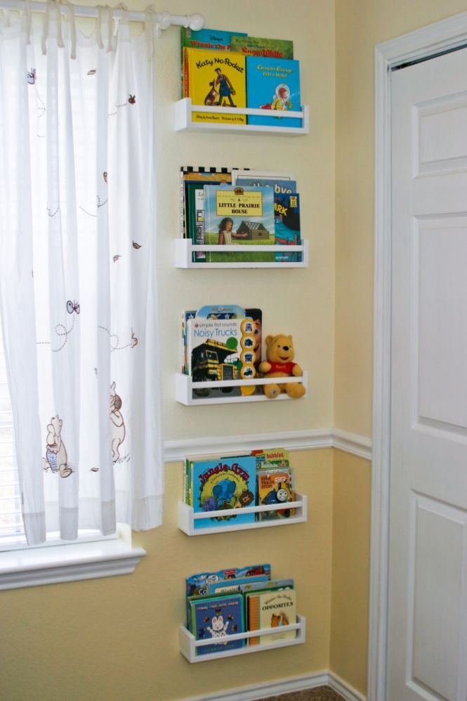 4 Ikea E Racks Turned Kids Bookshelves