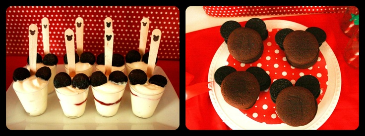 Mickey Mouse Dessert Ideas Using Oreos As Ears Gabriel