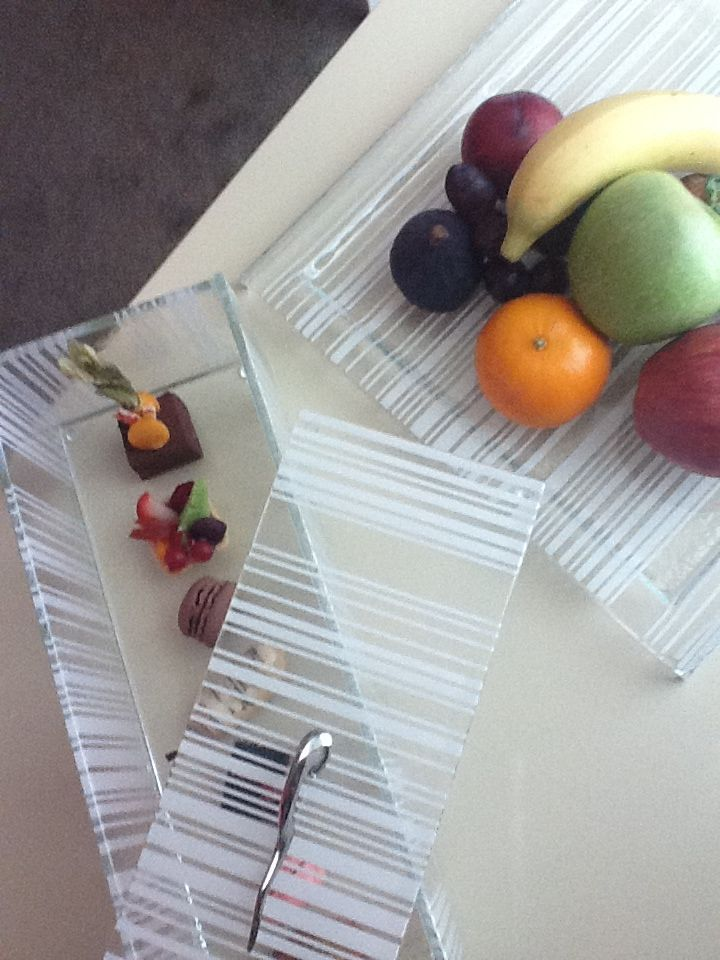 Welcome Amenity Fruit Plate And Dessert Box By Glass