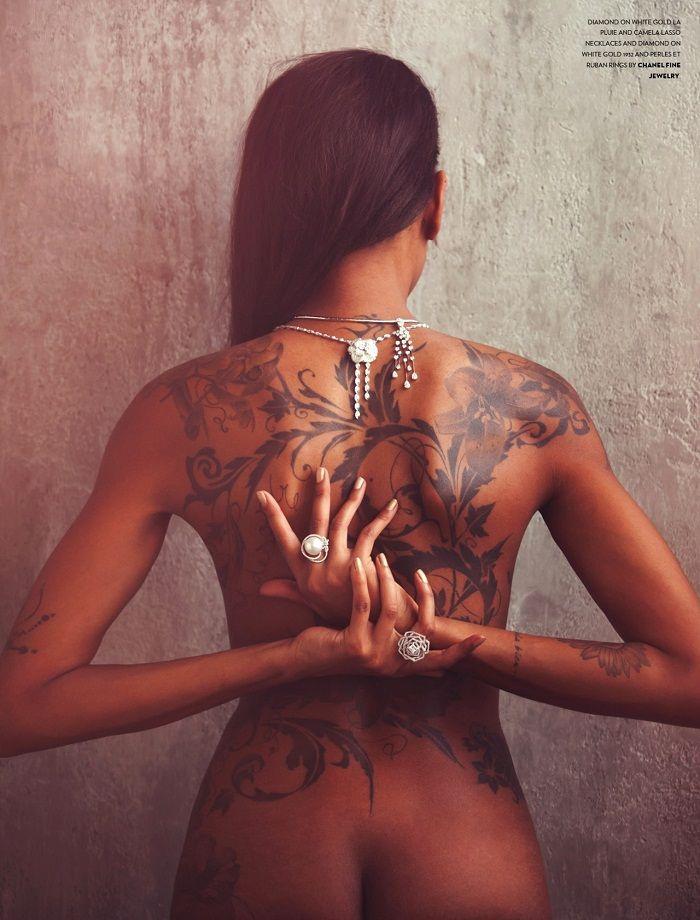 White Tattoos Dark Skin Ink