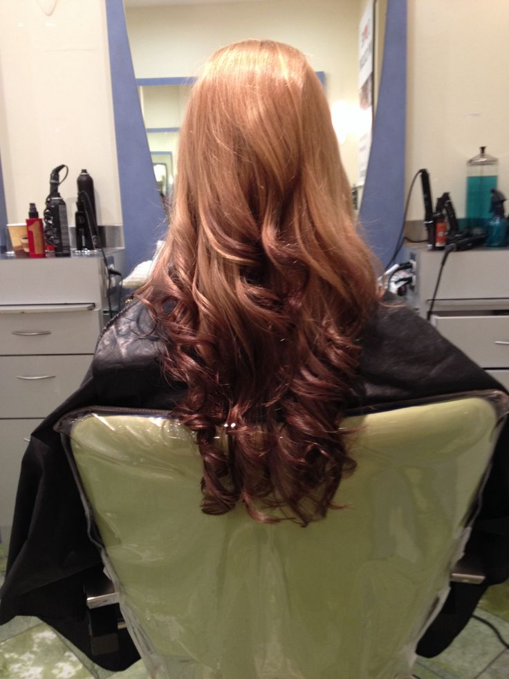 Strawberry Blonde Reverse Ombre My Style Pinterest