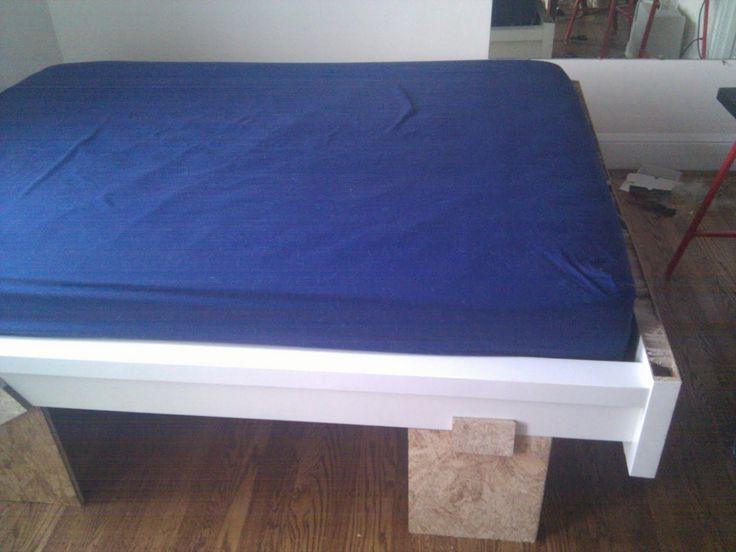 IKEA Hackers Malm Queen Murphy Bed Hack HOME Storage