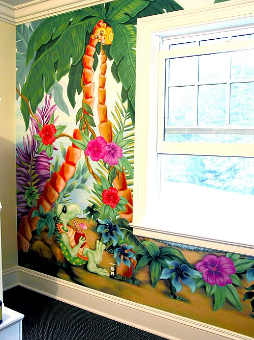 1000 Images About Jungle Room On Pinterest Coloring