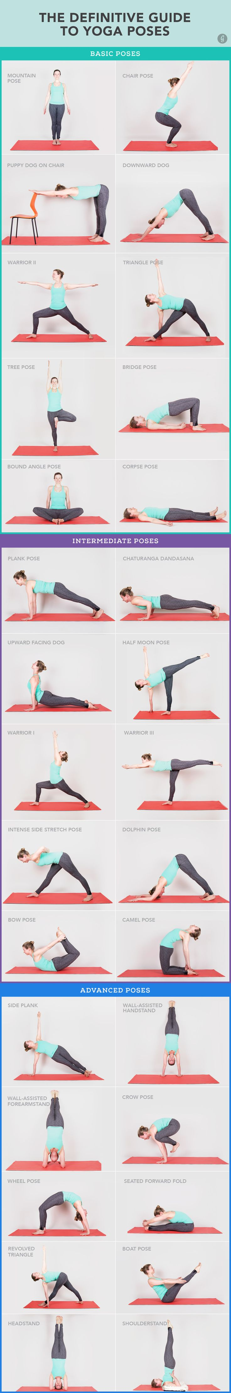 30 Yoga Poses You Really Ne