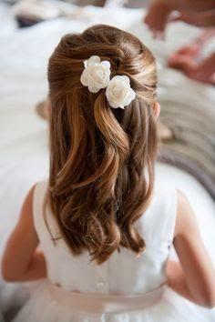 Peinados para primera comunion con velo 2017