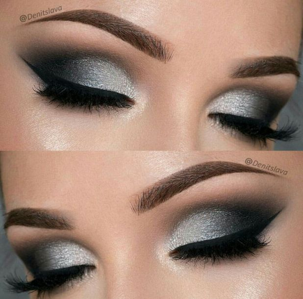 How To Get Black Smokey Eye Look Cartoonview