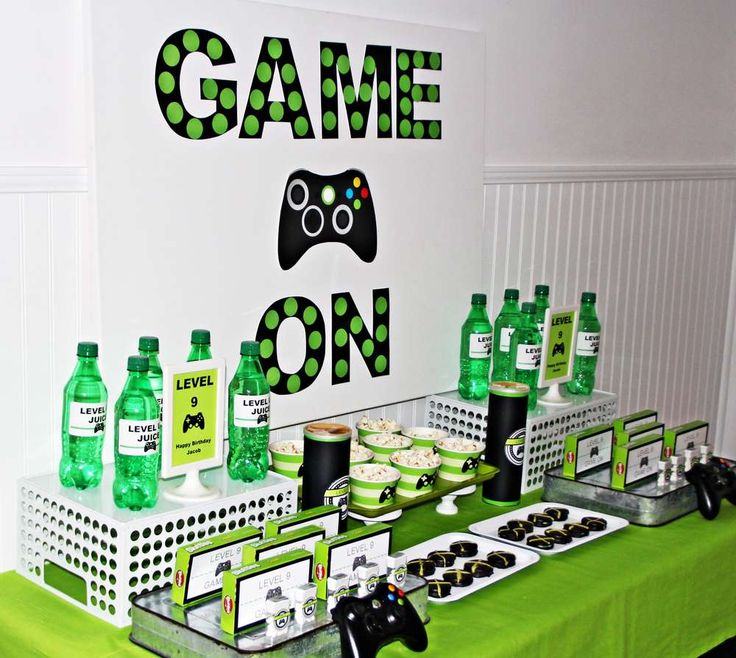 25 Best Ideas About Xbox Party On Pinterest Video Game