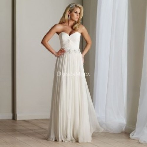 Light Flowy Wedding Dresses