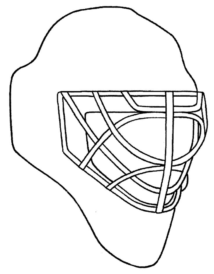 17 Best Images About Coloriage Hockey On Pinterest Ice