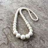 Image result for chunky off white necklace