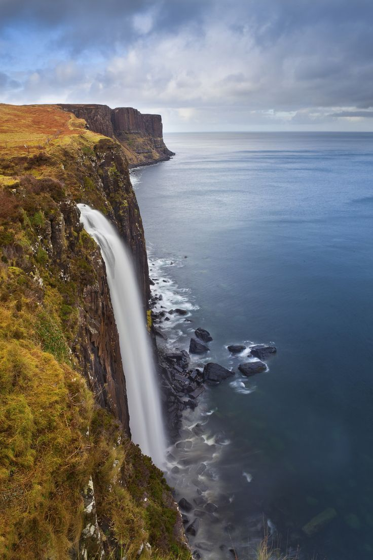 Mealt Falls on the Isle of Skye, Scotland // 29 Places You Won't Believe Are I