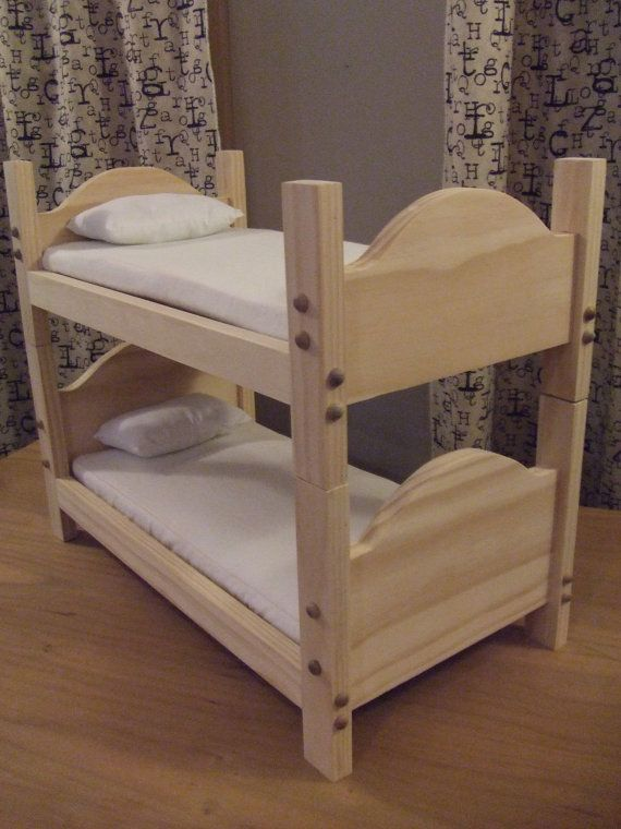 Diy 18 Inch Doll Bunk Bed WoodWorking Projects Amp Plans