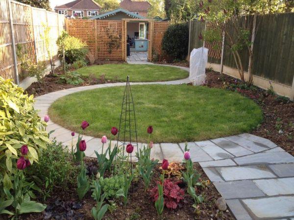 circular garden design ideas 186 best images about Garden design - circles & curves on