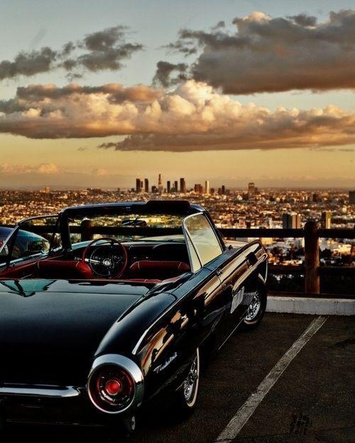 Los Angeles Skyline – Thunderbird