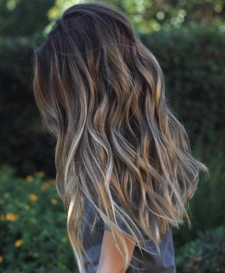 Best Highlights For Greying Dark Brown Hair Hairstly