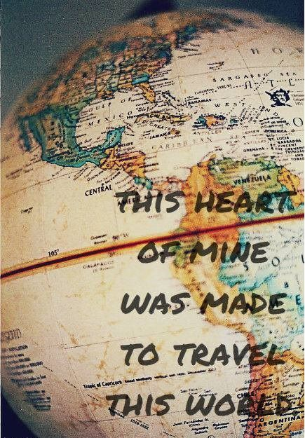 Wanderlust – a strong desire for or impulse to wander or travel and explore the world.