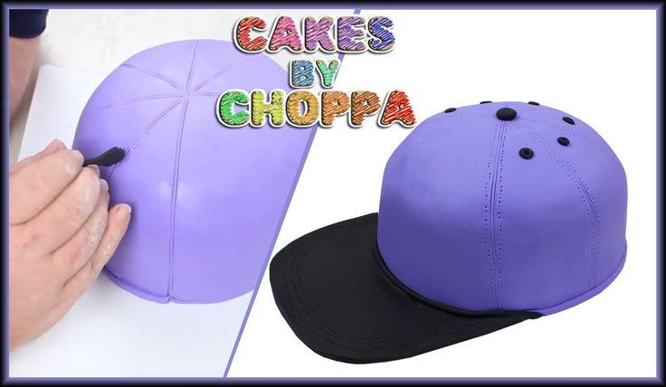 Baseball Hat Cake How To Youtube Cake Decorating