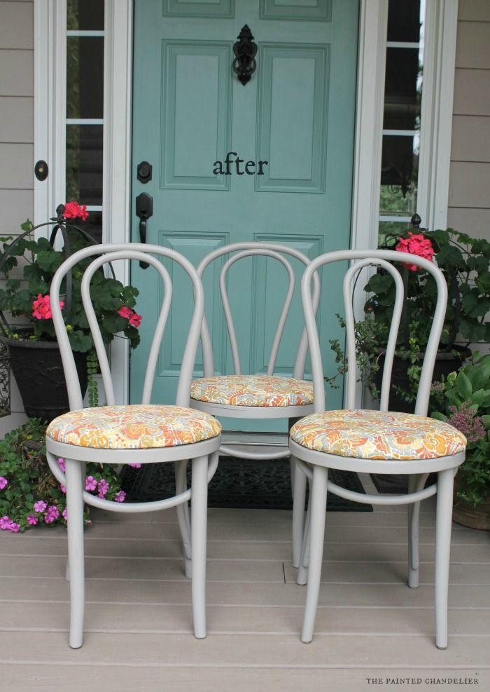 25 Best Ideas About Kitchen Chair Makeover On Pinterest