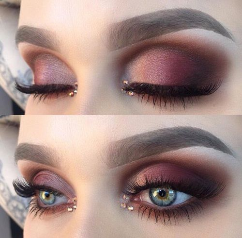 Maroon Makeup Prom Makeupview Co