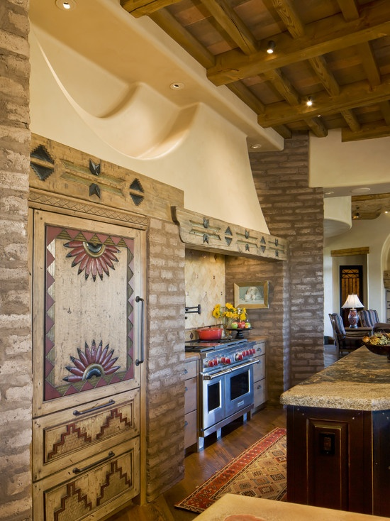 Bess Jones Interiorss Design Southwestern Kitchen COUNTRY KITCHENS Pinterest The Wall