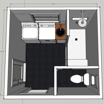 40 best images about shower come utility room on pinterest on combined bathroom laundry floor plans id=54702