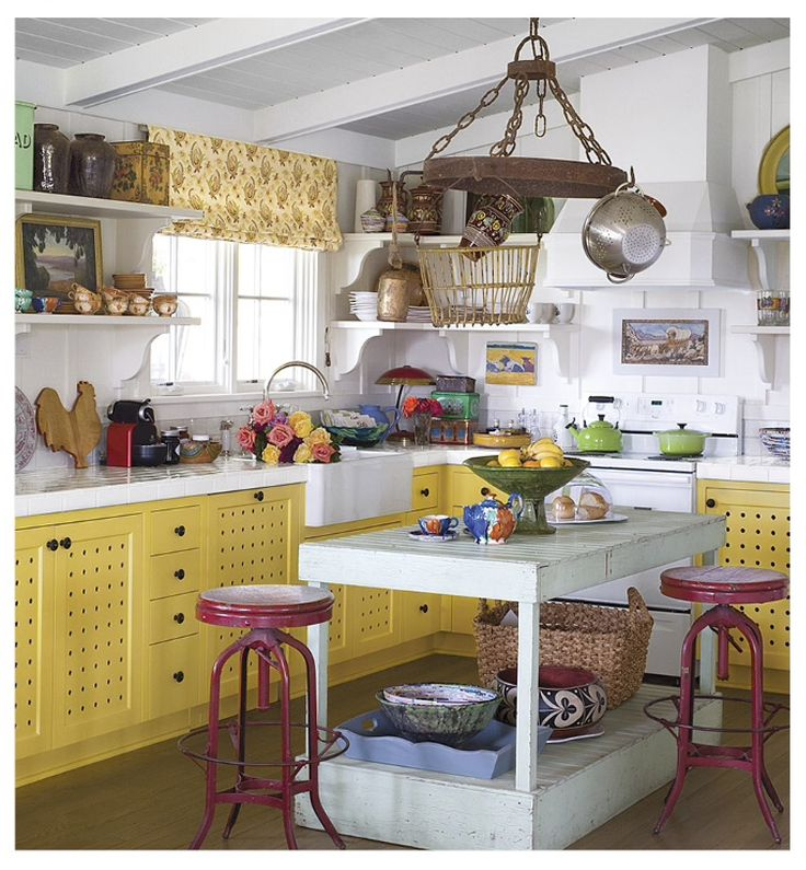 17 best images about kitschy kitchens on pinterest kitsch floors kitchen and diners on kitchen ideas quirky id=38584