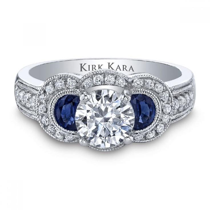 17 Best Images About Sapphire Amp Diamond Kirk Kara On