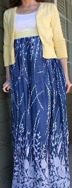 DIY FASHION | SKIRT :: 2nd Story Sewing: The Lu Lu (High-Waisted Maxi) Skirt…A