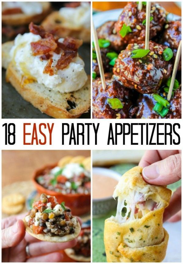 18 EASY Appetizer Ideas for New Year's Eve   New Year's ...