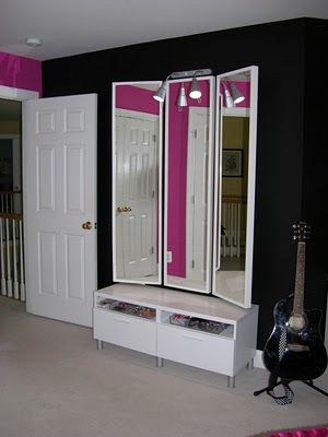 127 best images about Cute Teen Rooms on Pinterest   Hot ... on Mirrors For Teenage Bedroom  id=40793