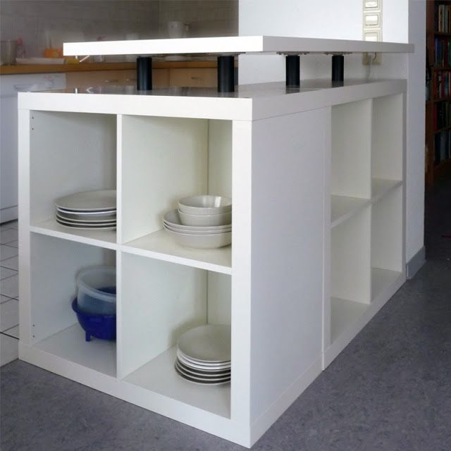 diy ikea hack l shaped expedit kitchen island diy kitchen decor pinterest kitchen islands on kitchen island ideas diy ikea hacks id=53769