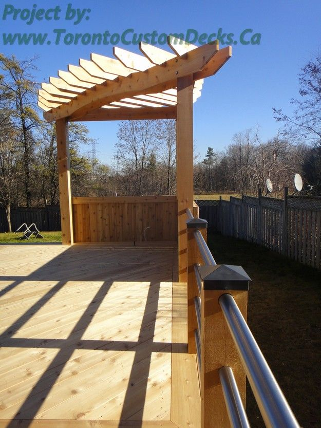 Install A Perfect 90 Degree Angle Pergola By Putting It In