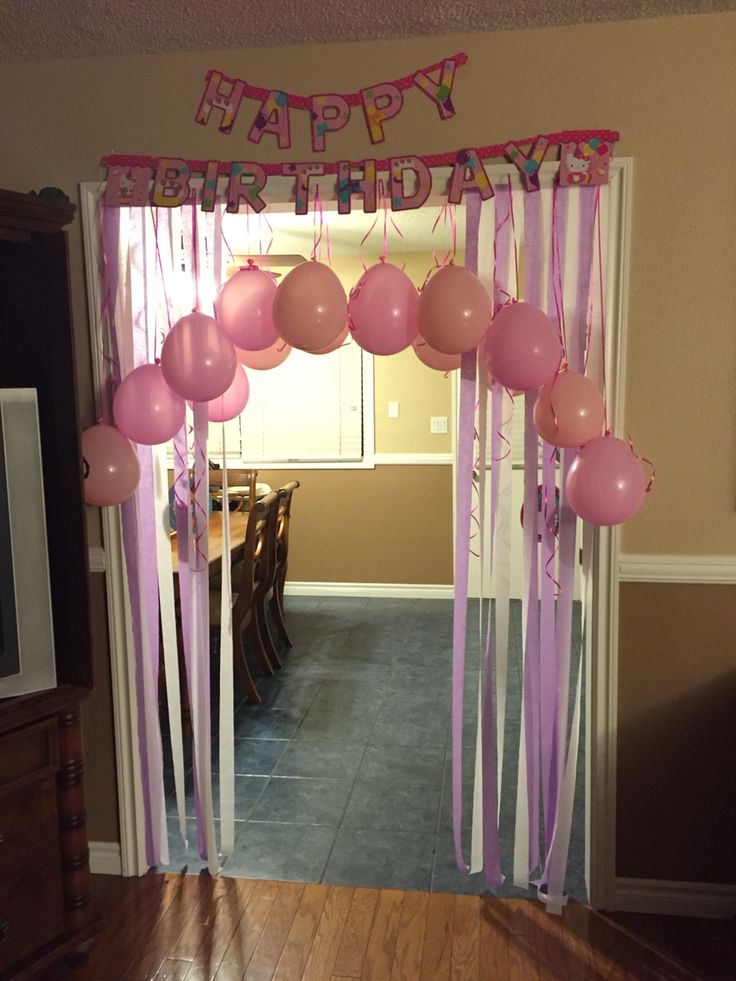 Birthday Morning Surprise For The Kids Pinterest Birthdays Birthday Morning And Birthday