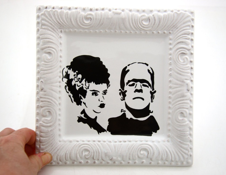 Mr And Mrs Frankenstein Halloween Wedding Gift Can Be